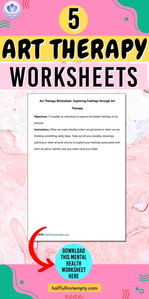 Art Therapy Worksheets (7+)