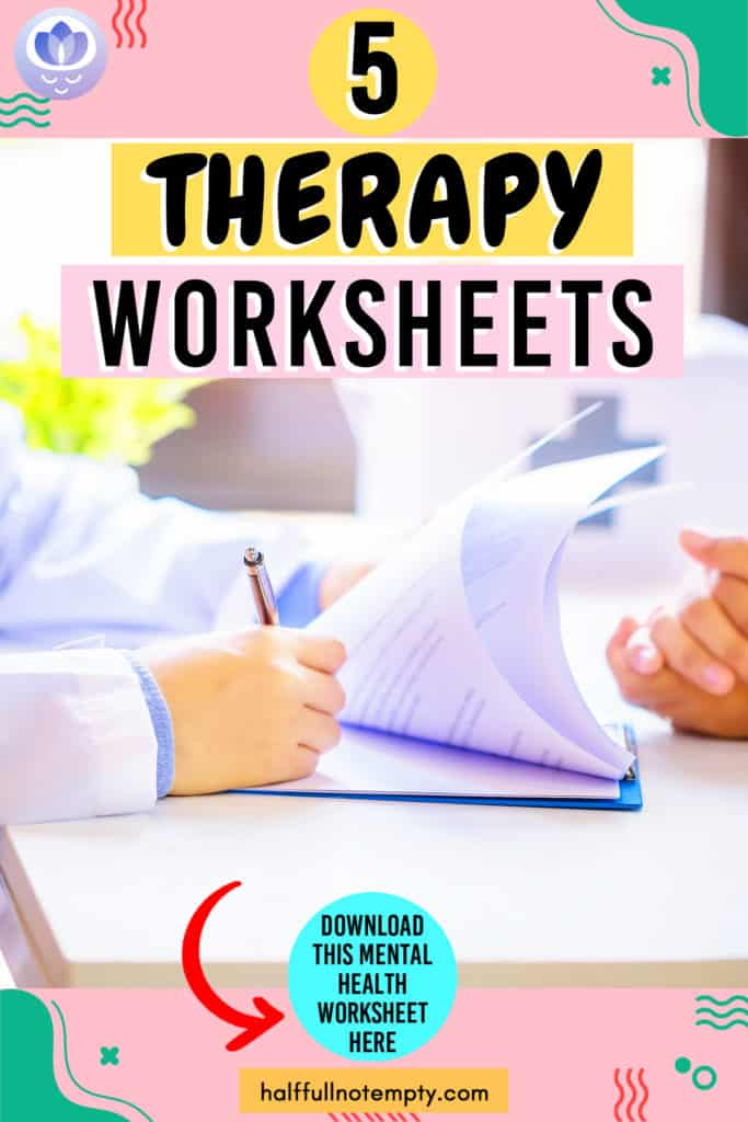 Therapy Worksheets (5+)
