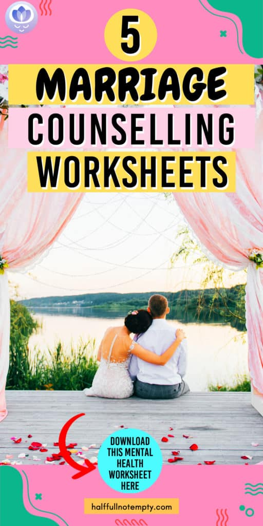 Marriage Counseling Worksheets (5)