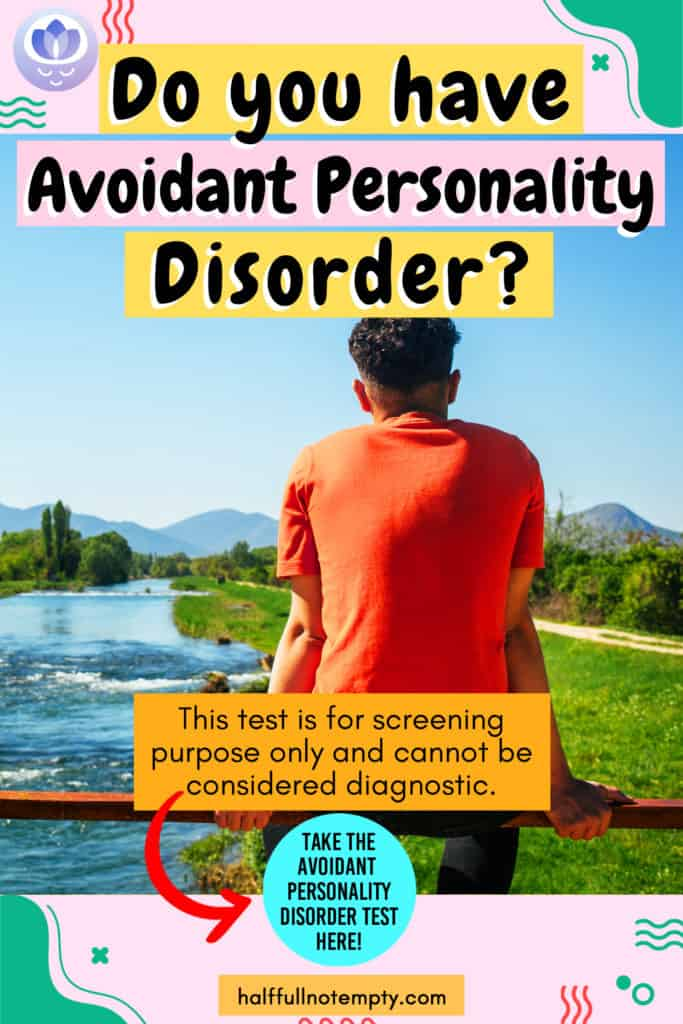 Avoidant Personality disorder Test (3 mins)