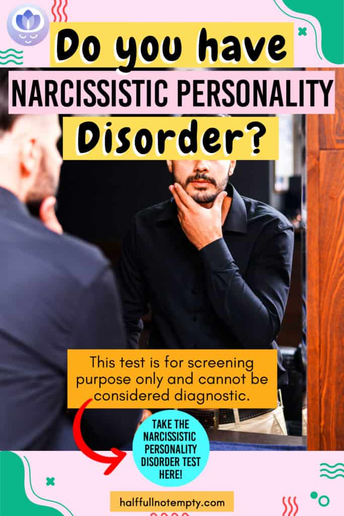 Narcissistic Personality Disorder Test (2mins)