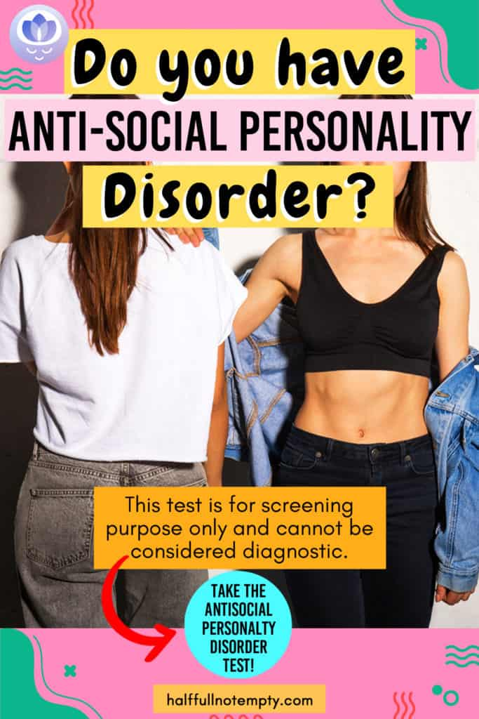 Antisocial Personality Disorder Test (3 mins)