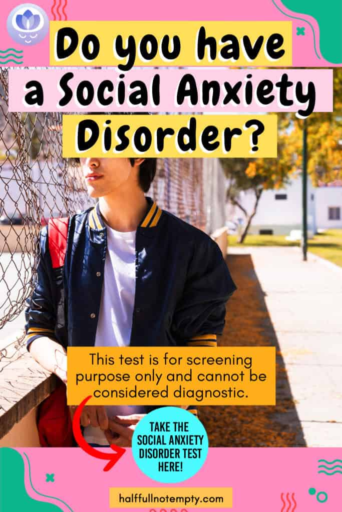 Social Anxiety Disorder Test (3mins)