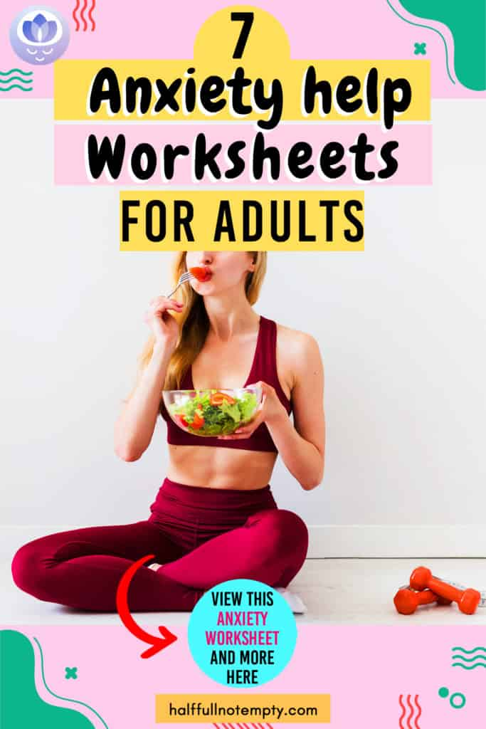 Anxiety Triggers Worksheets (7+)